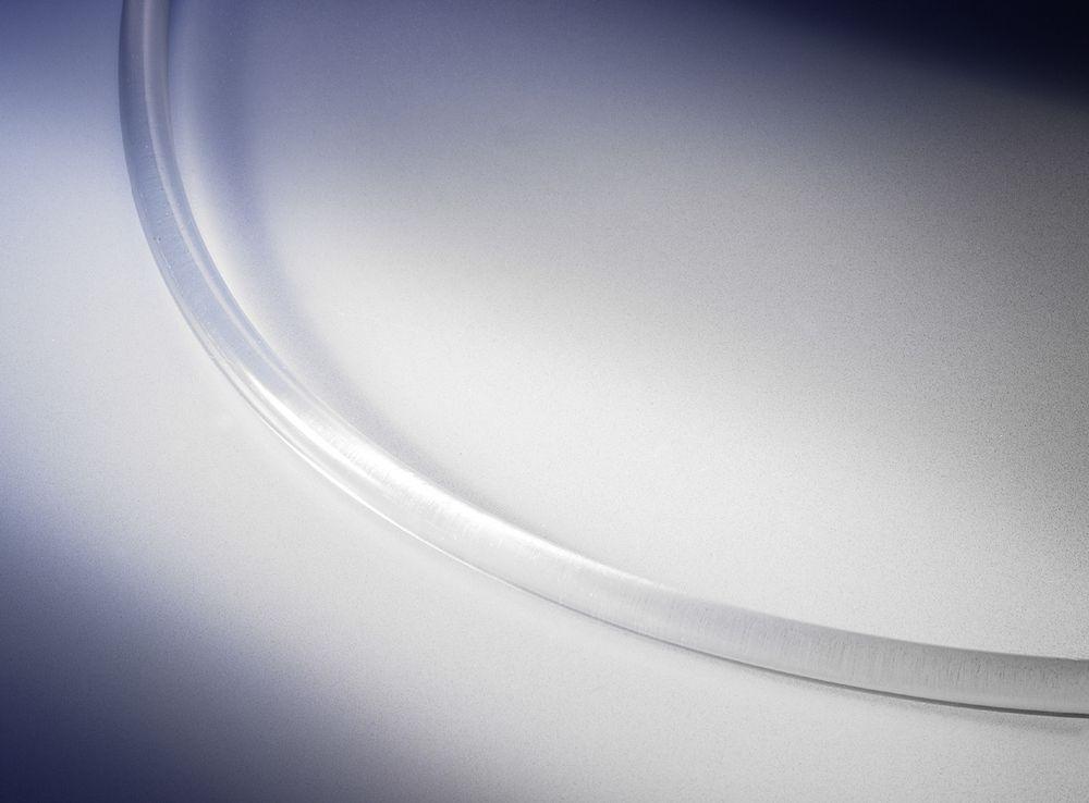 Kunststoff-Planenseil, D: 8 mm, L: 100 m, transparent