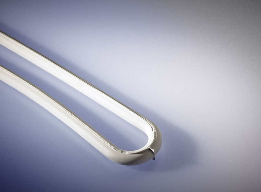 Gummi-Spannringe, EPDM, L: 200 mm, weiß