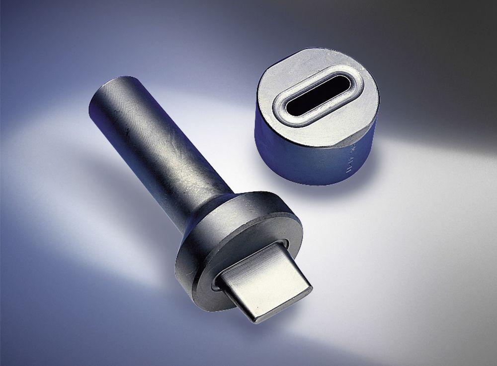 Einschlagstempel für Ovalösen, 22,5 x 13,5 mm