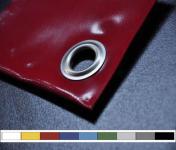 PVC ponyva 650g/m2 Szakítószilárdság 2500N/5cm Egyedi méret