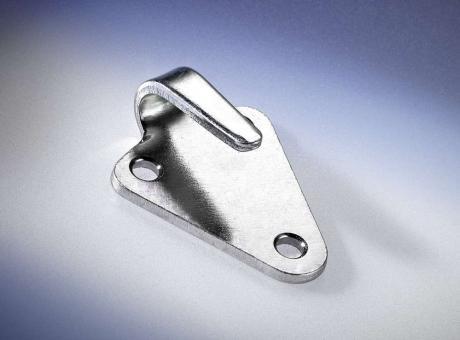 Dreiloch-Planhaken, gestanzt, verzinkt