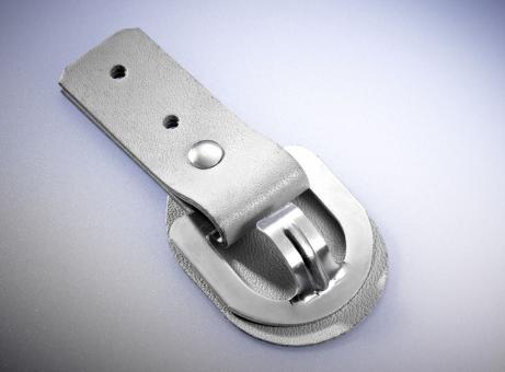 Aufrollkappe m. Scheürunterlage, beige, A: 25 mm, B: 25 mm