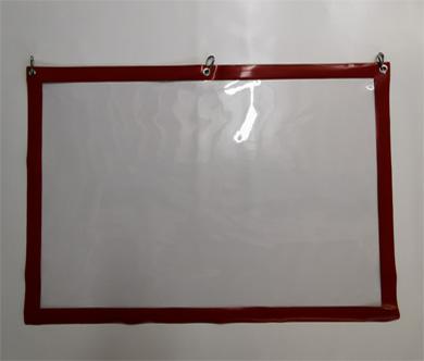 Schutz-Transparent / Verkaufsschutz / Kassenschutz / Spuckschutz / Corona-Schutzvorhang aus PVC-Glas, abgehängte Version auf Wunschmaß